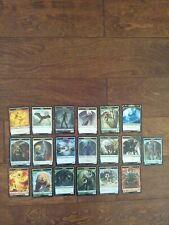 MTG MAGIC Modern Horizons Foil Tokens Complete Set 19 Cards NEVER PLAYED