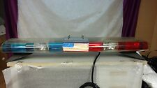 VINTAGE 48 INCH JETSTROBE POLICE/FIRE LIGHT BAR BY FEDERAL SIGNAL