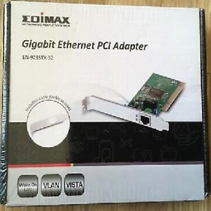 Gigabit PCI Ethernet LAN Network Interface Adaptor Edimax EN-9235TX-32 RTL8169SC