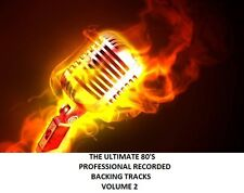 THE ULTIMATE 80'S PROFESSIONAL RECORDED BACKING TRACKS VOLUME 2