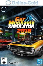 Car Mechanic Simulator 2018 Key - STEAM Download Code - PC Standard Game DE/EU