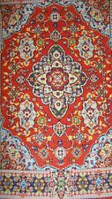 Turkish  Carpet Blue Design, Dolls House Miniature 1.12 Scale Carpets