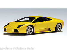 2001 LAMBORGHINI MURCIELAGO YELLOW GIALLO 1/18th Scale AUTOart NEW LOWER PRICE
