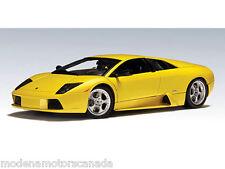 2001 LAMBORGHINI MURCIELAGO YELLOW GIALLO 1/18th Scale AUTOart LAST PIECE