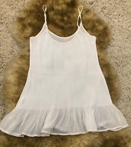 Malizia by La perla white camisole Top sleepwear nightwear size it 2 usa 8 uk12