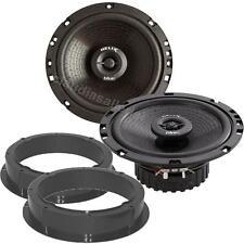 Helix B6X Lautsprecher 165mm mit Adapterringe für Seat Altea Fronttüren
