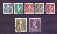 Berlin 1949 - UPU Stephan - MiNr. 35/41 rund gestempelt - Michel 320,00 € (922)