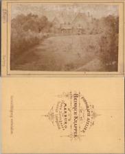 Allemagne, Marburg/Drau Maribor in Slovenia, villa, circa 1870 CDV vintage album