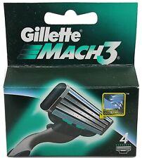 GILLETTE MACH3 4 RICAMBI - OFFERTA STOCK -