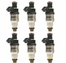 Set (6) Flow Matched  Fuel injectors for Ford 2.3 2.9 3.0 3.8 4.9 5.0 F47E-A2E