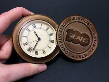 SEARS 1886-1986 Travel Alarm Clock Japan NQQ546GF Vintage