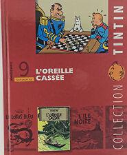 LIVRET FASCICULE TOUT SAVOIR SUR TINTIN N°09 L'OREILLE CASSEE
