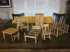 Vintage Strombecker Doll Furniture-lot-for Ginny & Other Dolls~