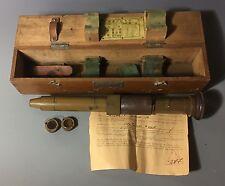 CAPTURE PAPERS USMC Marine Vet WW2 Japanese Light Rifle Tank Sight Scope Optics