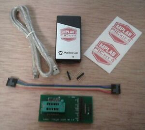 ICSP Adapter ZIF 8/14 w/ Authentic PICkit 4 USB Programmer