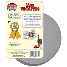 Harris VinPapers 15cm Wine Filter Papers