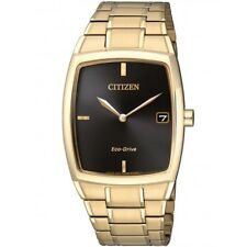 Citizen 2tone Stainless Steel Gold Wristwatch Eco-Drive AU1072-87E Date RRP $475