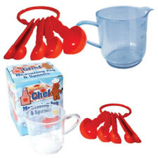 6 X Young Chef Measuring Jug And Spoons Fabulous Party Bag Filler for Small Kids