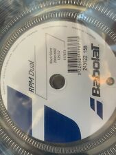 BABOLAT RPM DUAL 17 (1.25mm) tennis racket racquet string 660 ft REEL - Reg $235