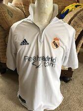 Real Madrid Entrenamiento Fútbol Camiseta/Jersey tarde años 90/principios de década de 2000 M Mediano