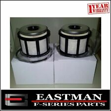"""Fuel Filter x 2 to suit Ford F250 F350 """"Hot Price""""  7.3 litre Turbo Diesel"""