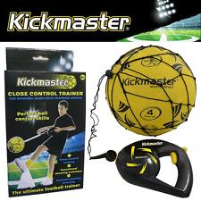 KICKMASTER CLOSE CONTROL FOOTBALL SKILLS TRAINER -FITS ALL FOOTBALL SIZES