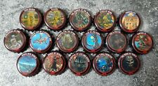 COLLECTION COMPLETE 16 ALBUMS CAPSULES IRON MAIDEN TROOPER BEER