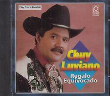 Chuy Luviano Regalo Equivocado CD New Nuevo Sealed
