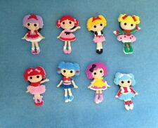 Lalaloopsy fridge magnets set of 8