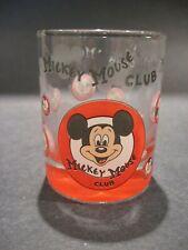 Walt Disney Mickey Mouse Club Shot Glass Disneyland Souvenir Barware