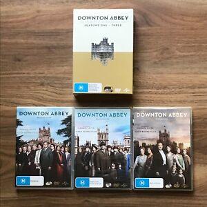 Downton Abbey Season 1 2 3 4 5 6 DVD Region 4 - Season 1-3 Is New/Sealed