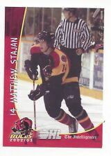 2002-03 Belleville Bulls (OHL) Matt Stajan (EHC München)