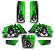 YAMAHA BANSHEE GRAPHICS DECAL KIT GRIM REAPER REVENGE STICKER WRAP GREEN