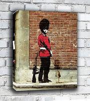 Banksy Canvas - Soldier