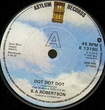 "BA ROBERTSON dot dot dot/keep off the grass K13190 uk asylum 1982 7"" WS EX/"