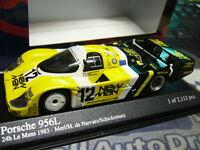 PORSCHE 956 L Le Mans #12 Joest New Man 1983 Schickentanz Minichamps PMA 1:43
