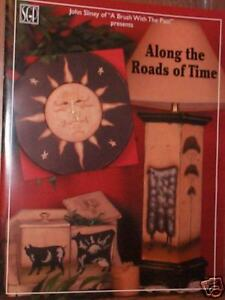 """JOHN SLINEY: """"ALONG THE ROADS OF TIME"""" PAINT BOOK  -OOP"""