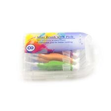 8x Orale En Plastique Dentaire Interdentaire Brosse Dent Clean Pick Sain 0.7mm Y