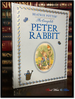 Complete Peter Rabbit by Beatrix Potter New Sealed Leather Bound Gift Hardback