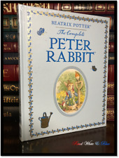 Complete Peter Rabbit by Beatrix Potter New Sealed Leather Bound Gift Edition