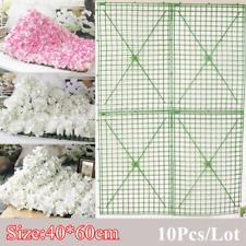 Flower Wall Plastic Panel Holder For DIY Wedding Flower Plant Backdrop AU