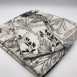 Palmeira 100% Cotton Percale Single Duvet Cover Set with Pillow Case Jungle