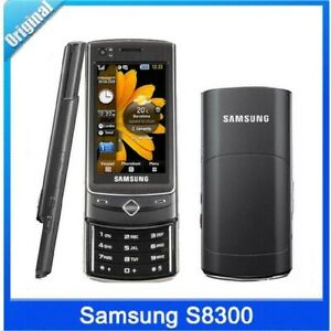 Samsung S8300 3G Slider Mobile Phone Touch Screen 2.8 in A-GPS 8MP Camera