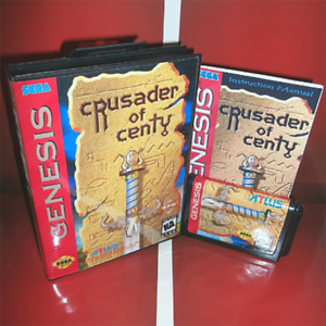 Crusader of Centy Soleil (1994) Game Card Boxed With Manual For Sega MD Genesis