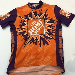 Home Depot Cycling Jersey Men's Large - How Doers Get More Done