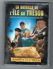 LES ENFANTS DE L'ÎLE AU TRÉSOR N° 1 - LA BATAILLE DE L'ÎLE AU TRÉSOR - DVD NEUF