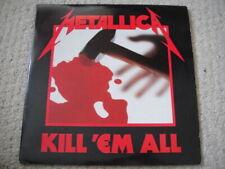 """Metallica – Kill 'Em All ORIGINAL Music For Nations – MFN 7 DM  2 × 12"""" 45RPP"""