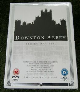 Downton Abbery Series One - Six The Complete Collection DVD Box Set - New 1-6
