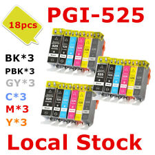 18X PGI525 CLI526 PGI 525 526Gray ink Cartridge for Canon MG 5250 6250 8250 8150
