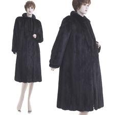 Mint!ON SALE! High Grade Forever Fashionable Black Mahogany Female Mink Fur Coat